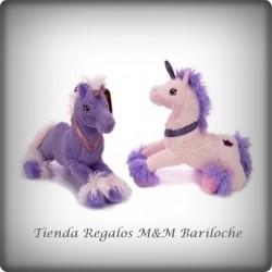 Unicornio Echado Chico 30 Cm- MI 3950