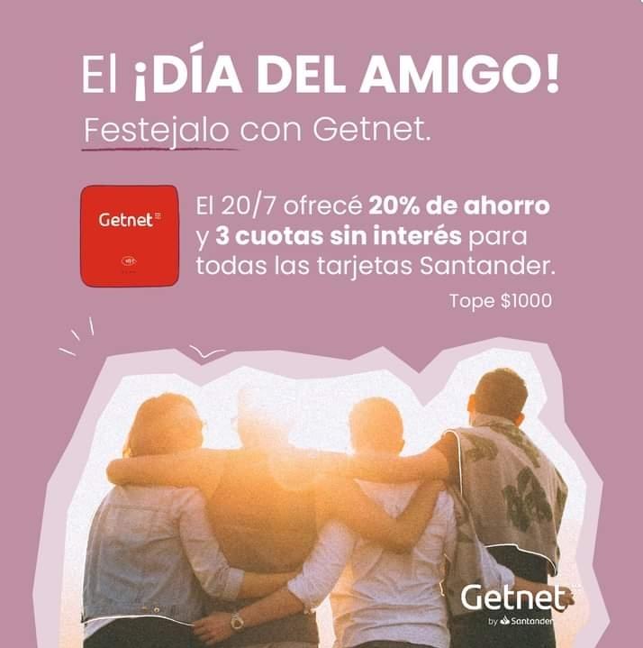 Promo Dia del Amigo 2021